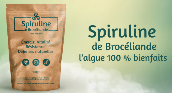 Spiruline broceliande